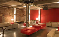 Silo building - Red room
